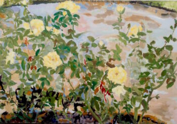Image of - Yellow Roses in the Round