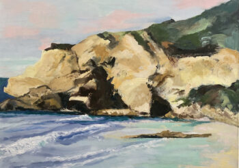 Image of - Crystal Cove on a Warm Day