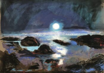 Image of - Blue Sunset on Mars