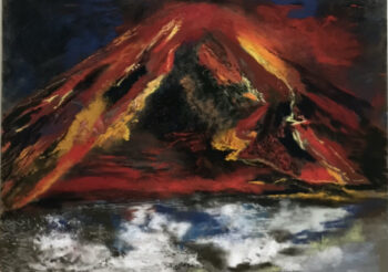 Image of - Volcanic Eruption on Io