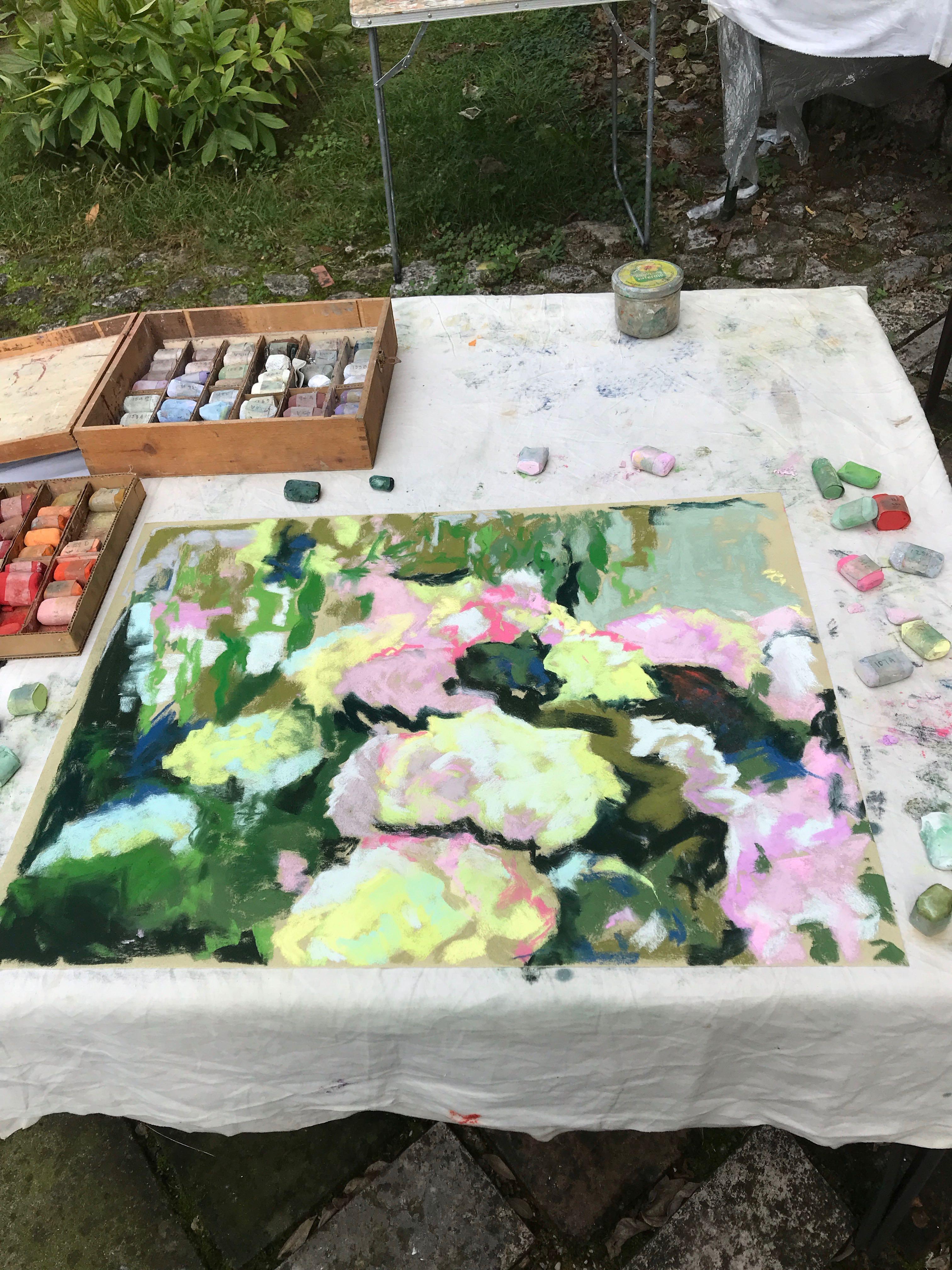 Image of - Roger's Garden Pastel